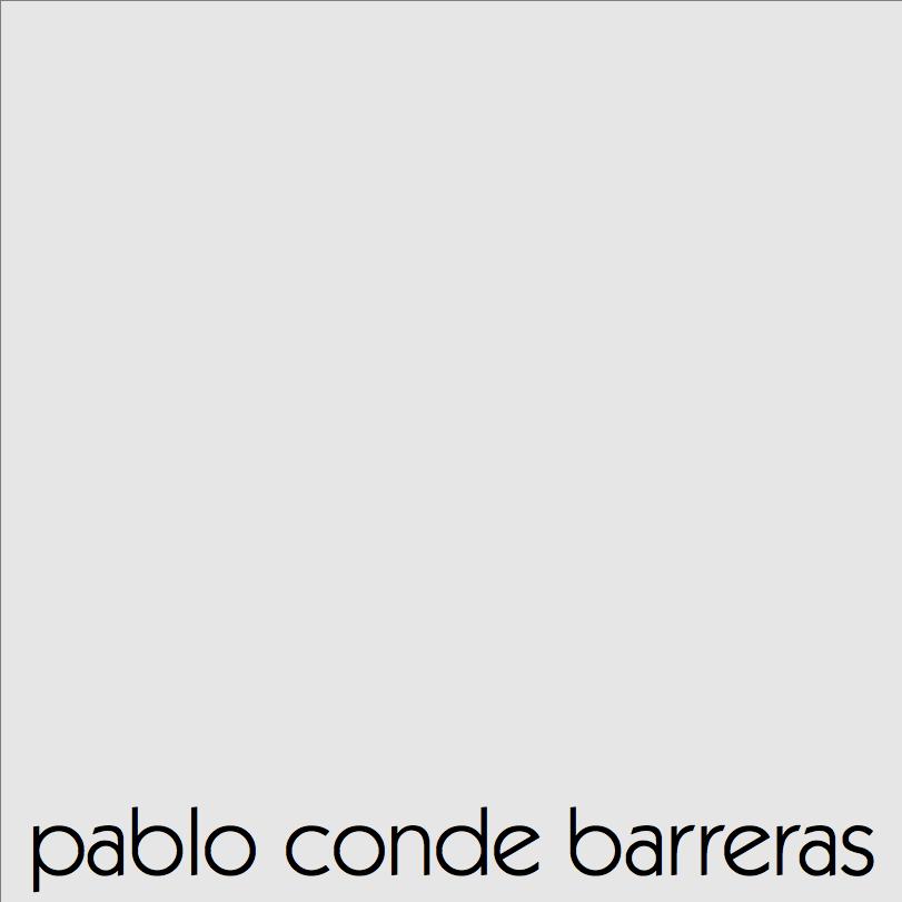 Pablo Conde Barreras